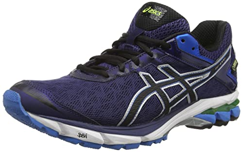 ASICS GT-1000 4 G-TX - Zapatillas de Running para Hombre, Color Azul (Indigo Blue/Black/Flash Yellow 4990), Talla 43.5: Amazon.es: Zapatos y complementos