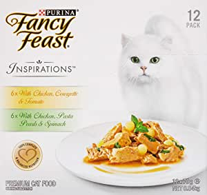Fancy Feast Inspirations Chicken Multipack, 24x70g