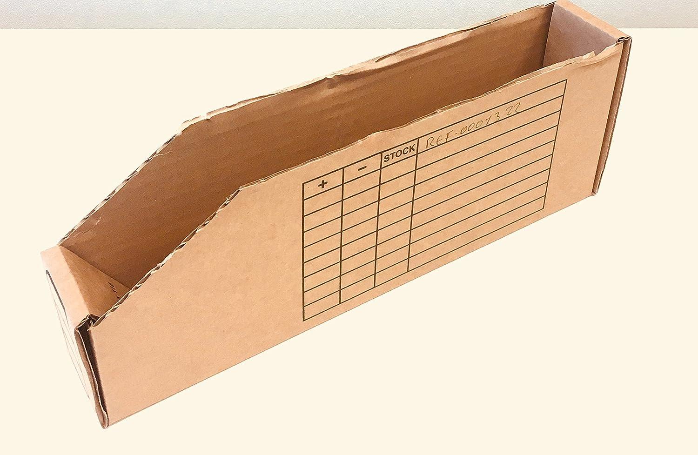 TAP 0001322 Bac à bec à monter en carton, 300 mm x 50 mm x 110 mm (Pack de 50) TAP France