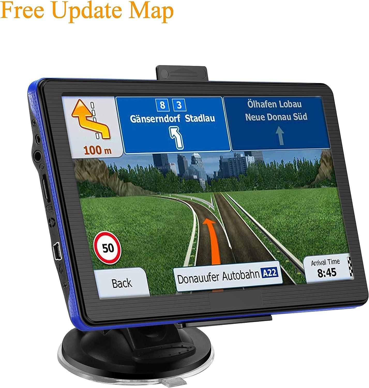 Prymax - Navegador GPS para Coche, 7 Pulgadas, con Pantalla táctil, 8 GB de Memoria, actualización de mapas de por Vida, Alarma de conducción y dirección de Voz: Amazon.es: Electrónica