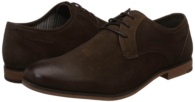hush puppies men's aaron derby formal shoes