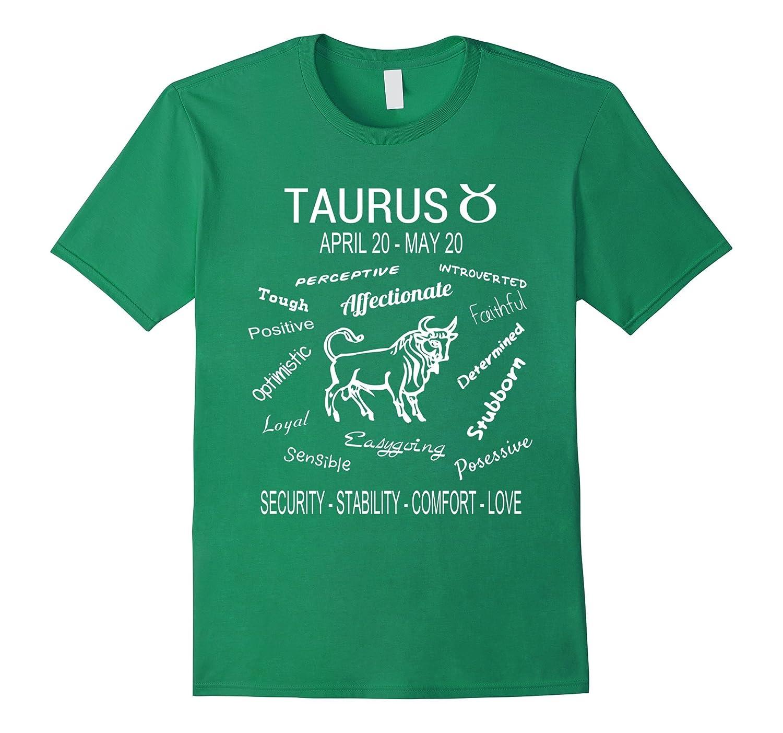 Taurus Horoscope T-Shirt April 20 - May 20-FL
