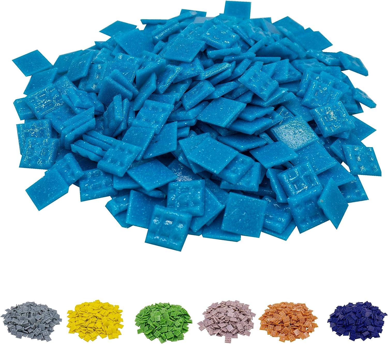 - mosa/ïque color/ée id/éale pour les loisirs cr/éatifs mosa/ïque en verre Plusieurs couleurs Mosa/ïque professionnel en mosa/ïque Pas de bo/îte en plastique 2 x cm, 900 g, env. 340 pi/èces Cotto 1.