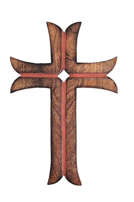 Amazon Christmas Gifts Wooden Cross With Handmade French Plaque