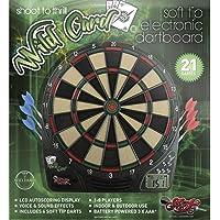 Shot!! ¡Disparo! Darts Wildcard - Juego de Dardos y Dardos electrónicos con Punta Suave