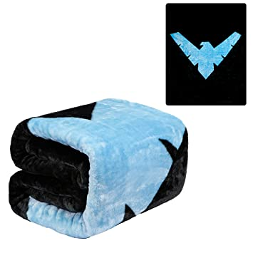Miraculous Jpi Plush Throw Blanket Batman Nightwing Twin Bed 60X 80 Faux Fur Blanket For Home Decor Bedding Sets Sofa Bed Couch Picnic Blanket Evergreenethics Interior Chair Design Evergreenethicsorg
