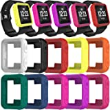 TenCloud Covers Compatible with Garmin Forerunner 35 Watch, Silicone Protector Case Replacement for Forerunner 35…