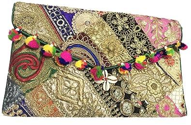 172e5d4c3 Shubhangi Ethnics Women's Sling Bag with Traditional Ethnic jaipuri ...
