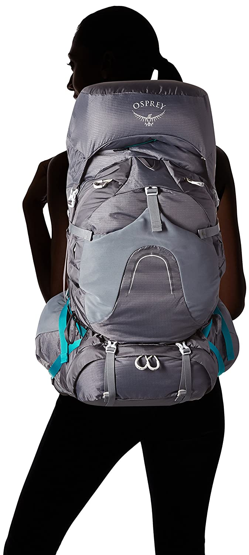 WM Osprey Aura AG 65 Womens Backpacking Pack Vestal Grey