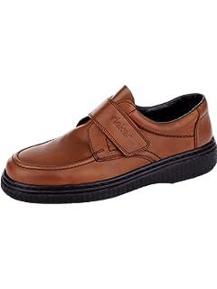 Rieker Herren Slipper in elegantem Look: : Schuhe