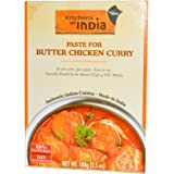 Kitchens of India, Paste for Butter Chicken Curry, 3.5 oz (100 g)