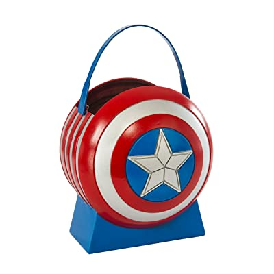 Avengers 2 Age of Ultron Captain America Collapsible Shield Pail: Toys & Games