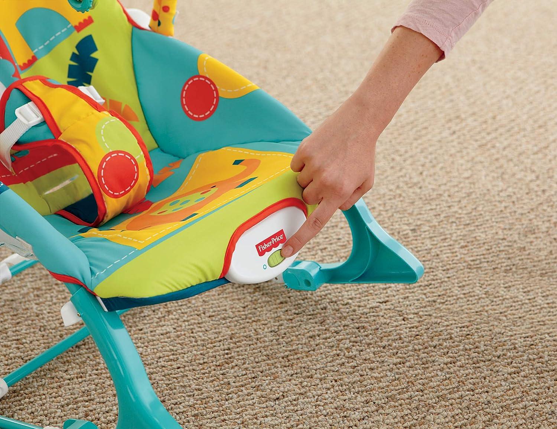 Amazon.com: Mecedora para infantes Fisher-Price, Hamaca para ...