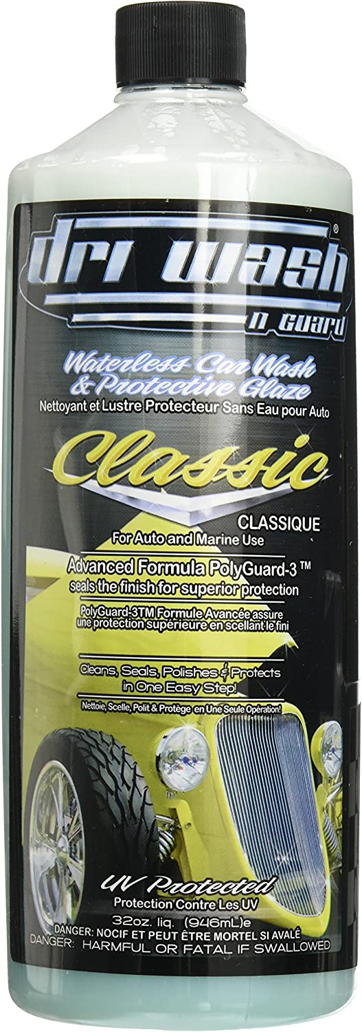 B0002T8FM4 32oz Dri Wash 'n Guard Classic Waterless Car Wash (W/O AIRosol Bottle 81jUl52BJ58L