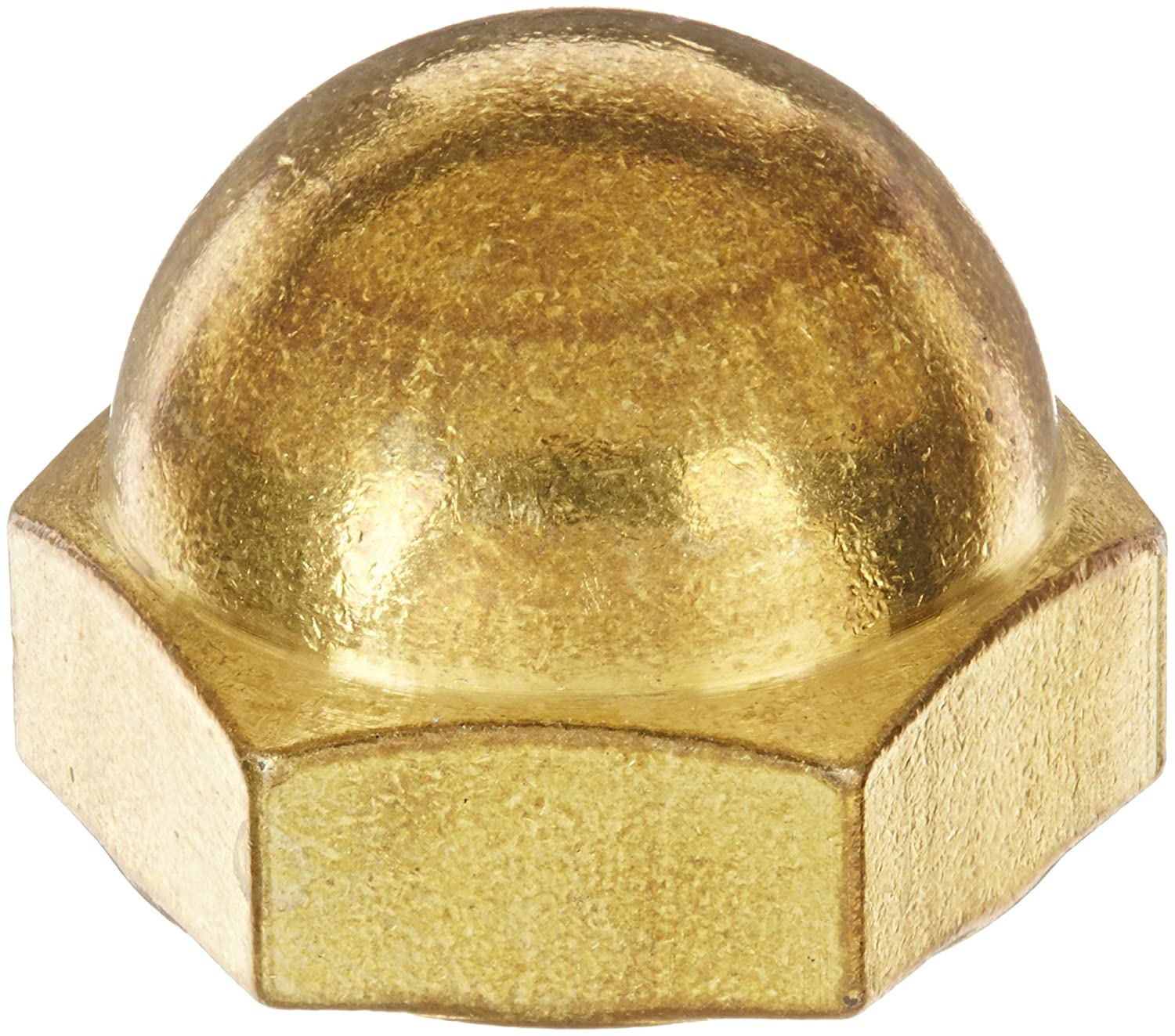 5//8-18 Thread Size 15//16 Width Across Flats 3//4 Height 7//16 Minimum Thread Depth 3//4 Height 5//8-18 Thread Size 15//16 Width Across Flats 7//16 Minimum Thread Depth USA Made Small Parts Brass Acorn Nut Pack of 1 Pack of 1