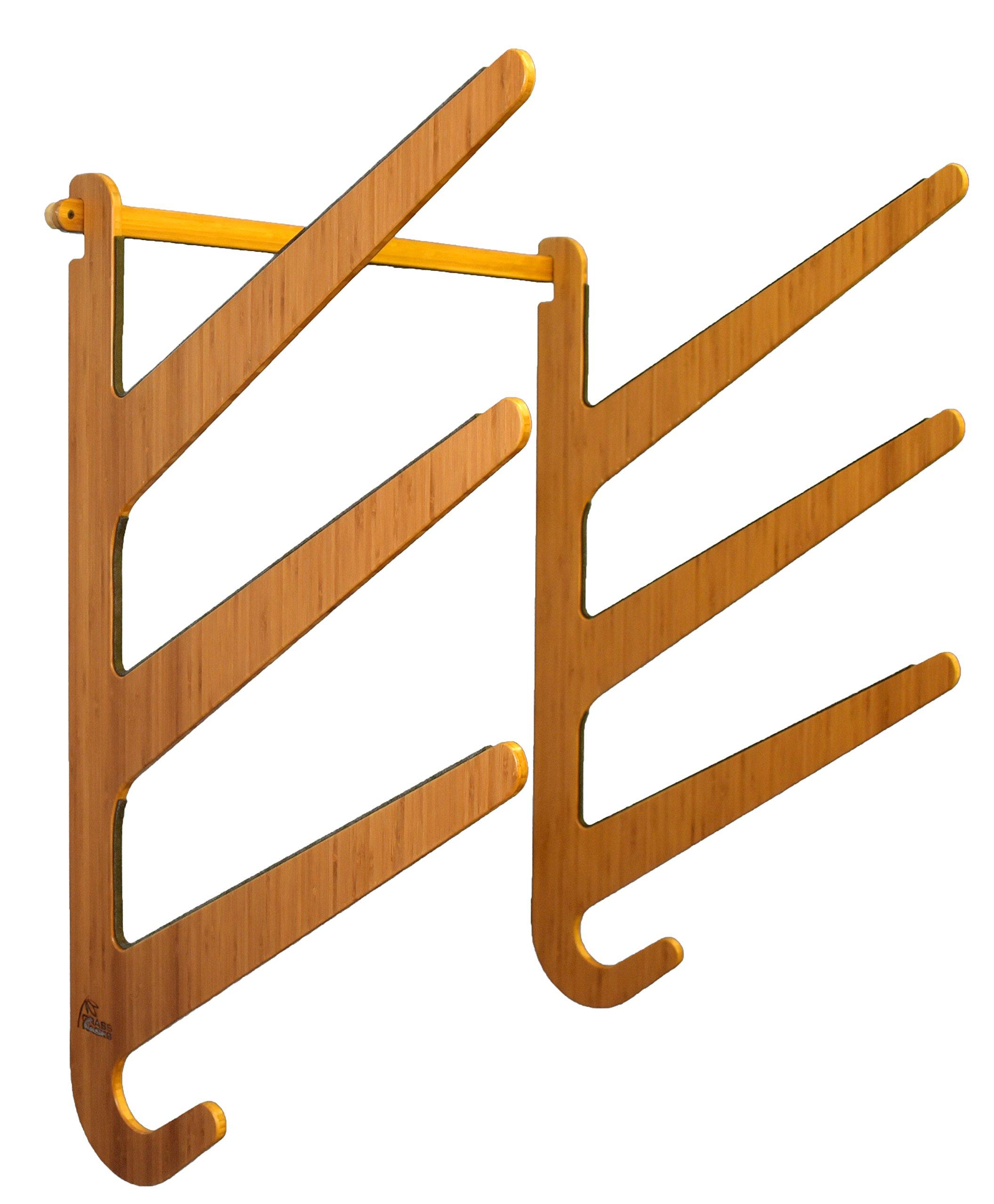 Grassracks Bamboo SUP Rack for 3 Paddleboards or Longboards O'ahu Trip by Grassracks