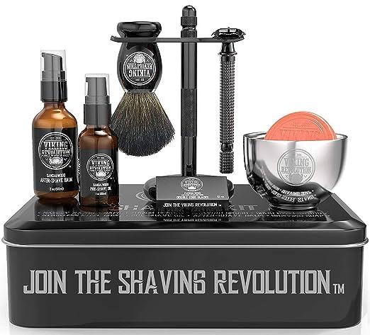 Luxury Safety Razor Shaving Kit