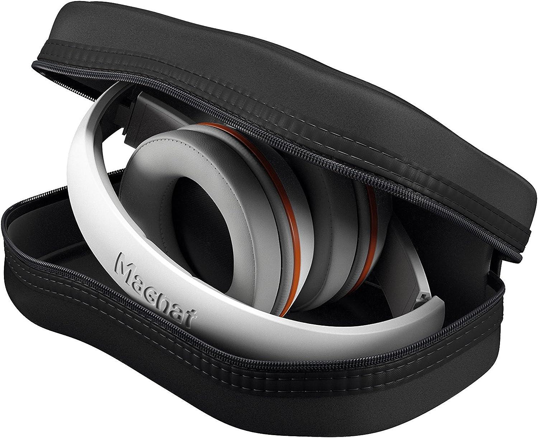 black  FullSize Over Ear Headphone Magnat LZR 580 red vs