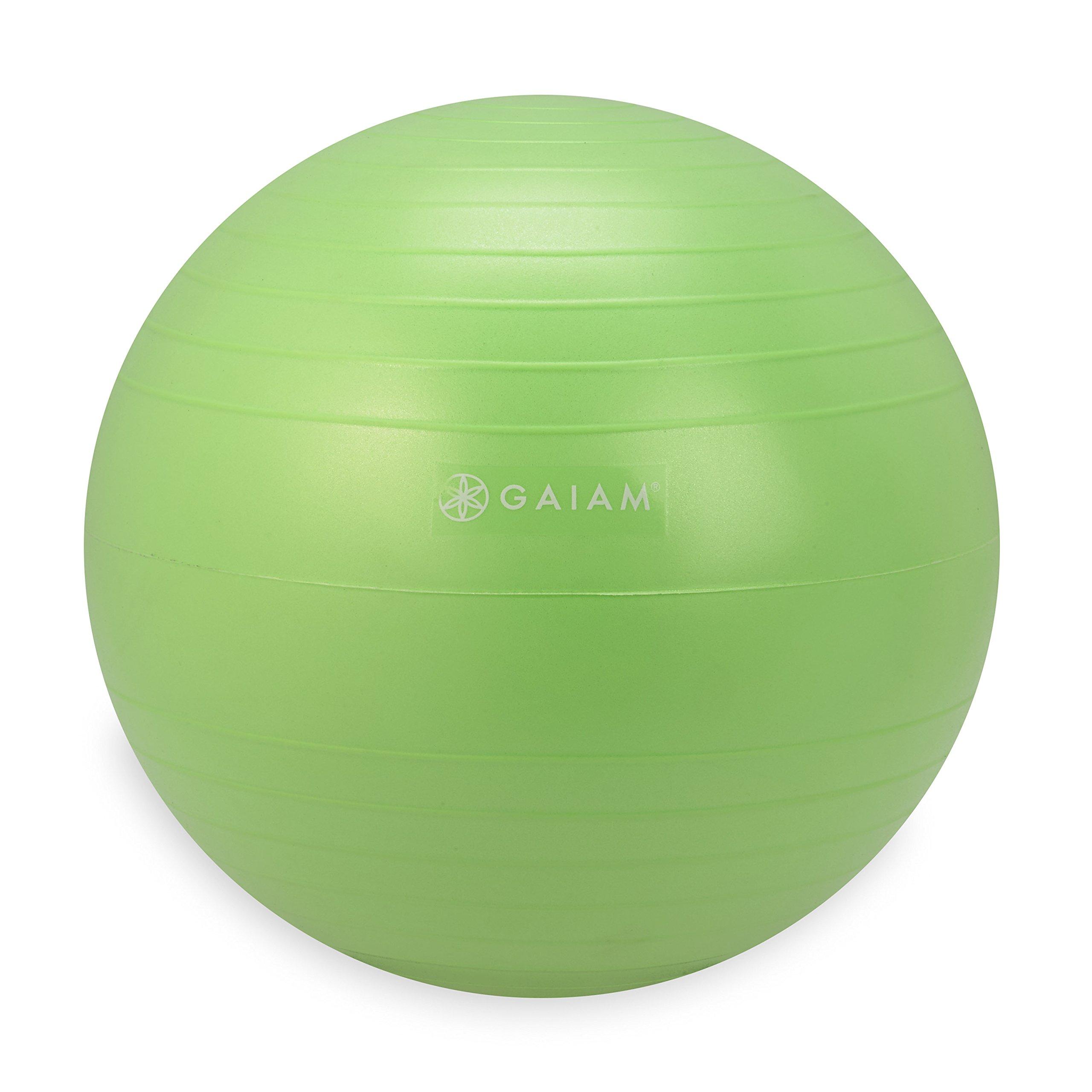 Gaiam Kids Balance Ball Chair Ball - Extra Balance Ball for Kids Balance Ball Chair, Green, 38cm