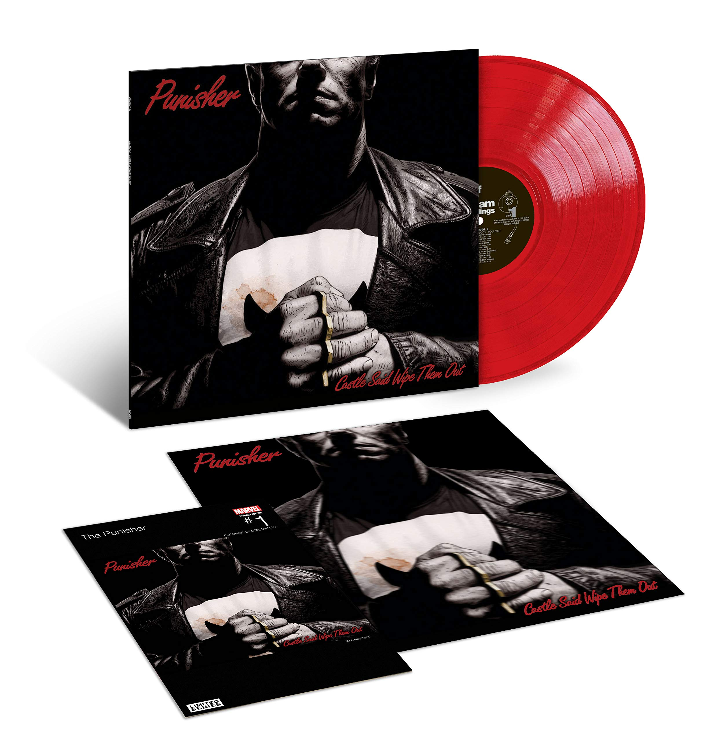 Vinilo : LL Cool J - Mama Said Knock You Out (Colored Vinyl, Red, Deluxe Edition, Reissue)