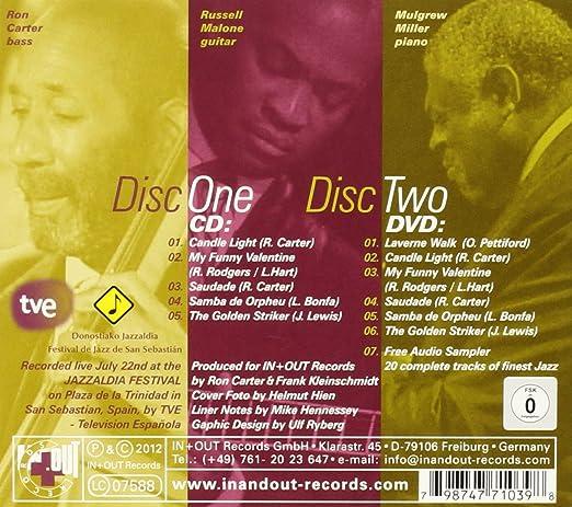 At San Sebastian [cd + Dvd]