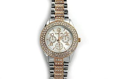 Amazon.com: Bebe BEB5038 - Reloj de pulsera para mujer ...