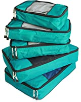 TravelWise Packing Cube System - Durable 5 Piece Weekender+ Set