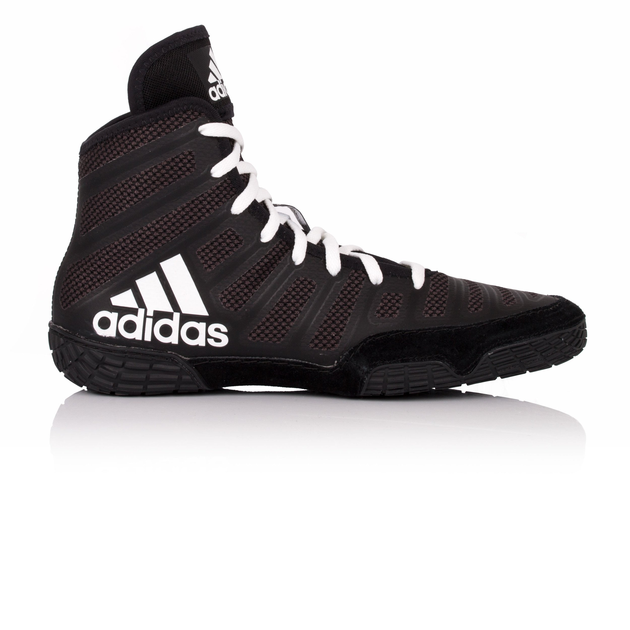 Adidas Varner Wrestling Boots - SS18-10.5 - Black by adidas