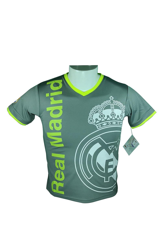 Real Madridサッカー公式ユースサッカートレーニングパフォーマンスPoly Jersey p003r B06XH5RGMSSmall