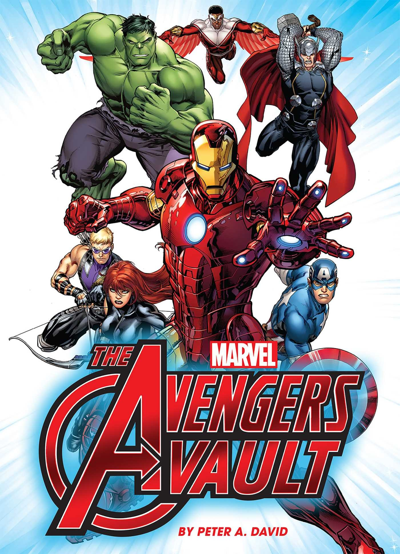 Marvel the avengers vault peter a david 9781626862999 amazon marvel the avengers vault peter a david 9781626862999 amazon books fandeluxe Image collections