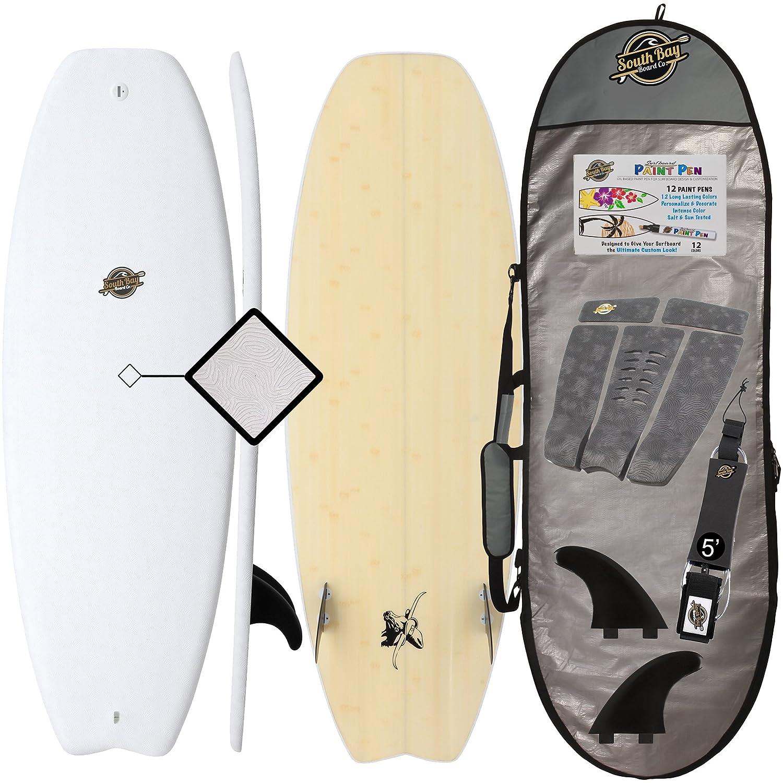 Hybrid Surfboard + Bag Package - Best Performance Foam