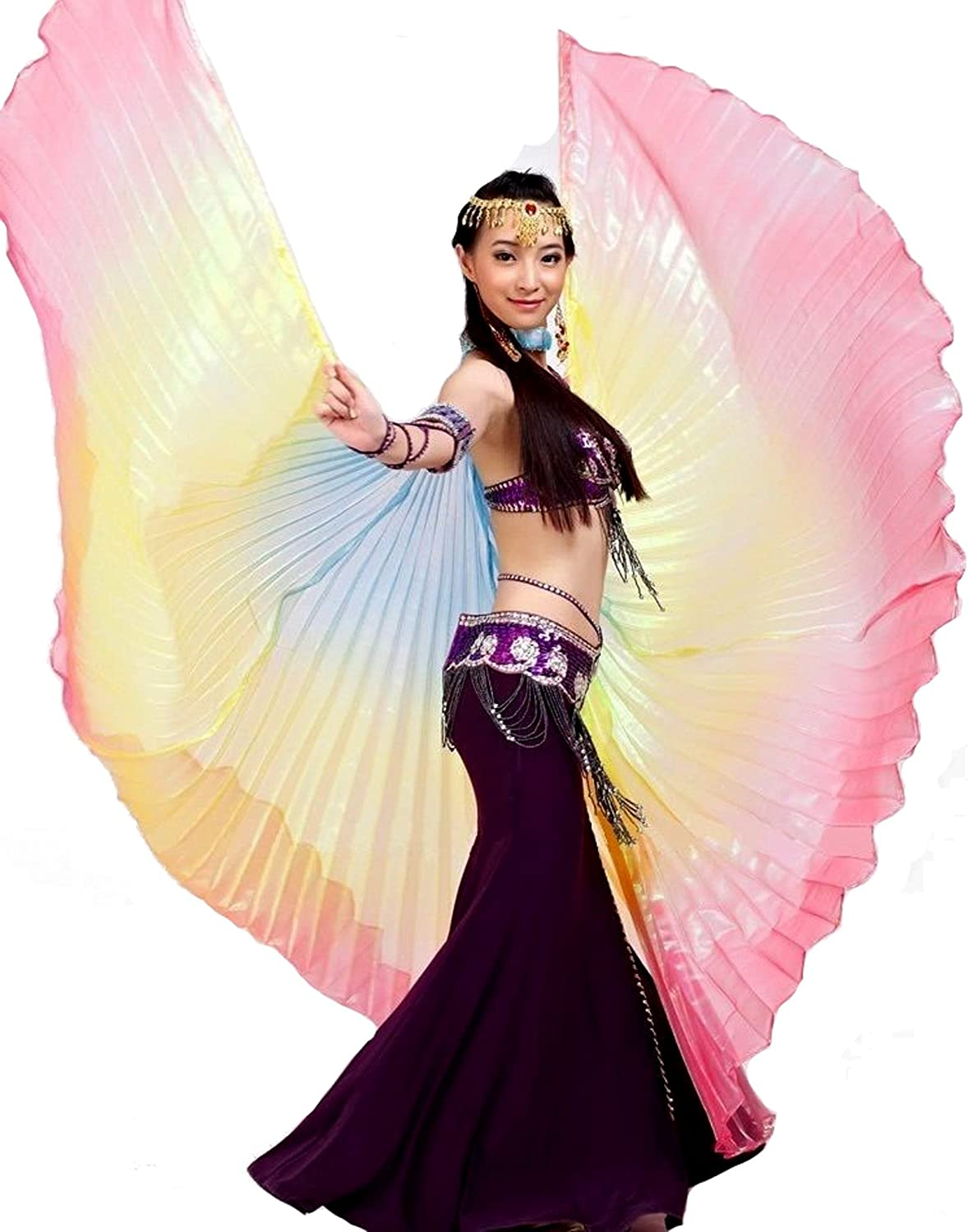 ISIS Wings alas velo Danza del Vientre Belly Dance Disfraz Samba ...