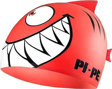 PI-PE Badekappe Sharky Gorro de nataci/ón