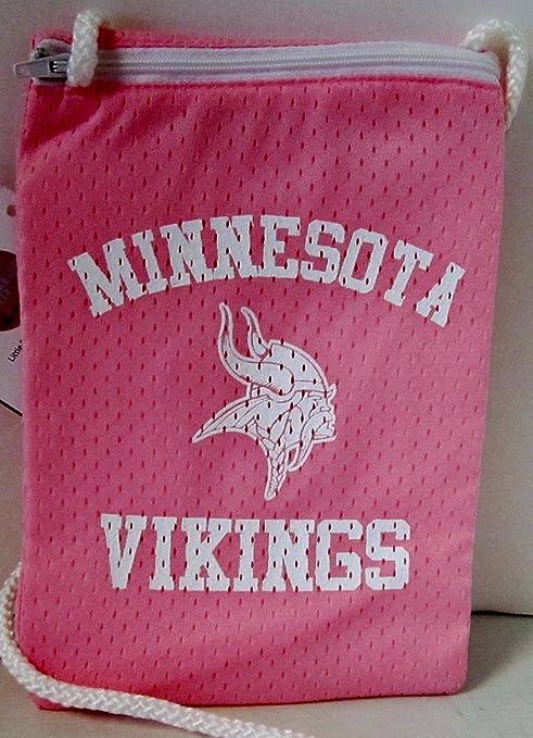 NFL oficial de Minnesota Vikings rosa con cremallera Jersey ...