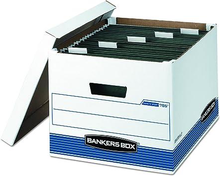 Standard Set-Up Letter//Legal Bankers Box STOR//File Storage Boxes Lift-Off Lid