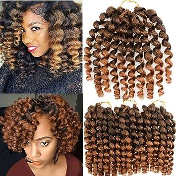 Amazon vrhot 3packs 8 jumpy wand curl crochet hair braids vrhot 3packs 8 jumpy wand curl crochet hair braids jamaican bounce crochet synthetic hair pmusecretfo Choice Image