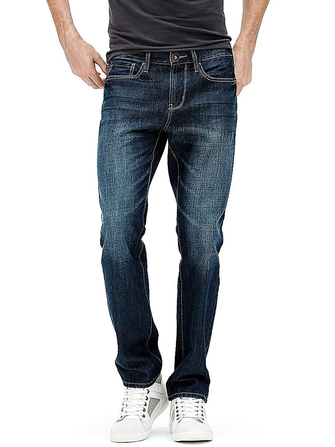 Guess Factory Men's Delmar Slim Straight Jeans GuessFactory