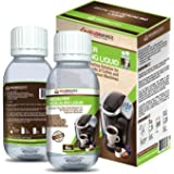 Descaling Solution for All Brands of Coffee and Espresso Machines By Housewares Solutions - 4 Fluid Ounce Bottle (2-Pack)