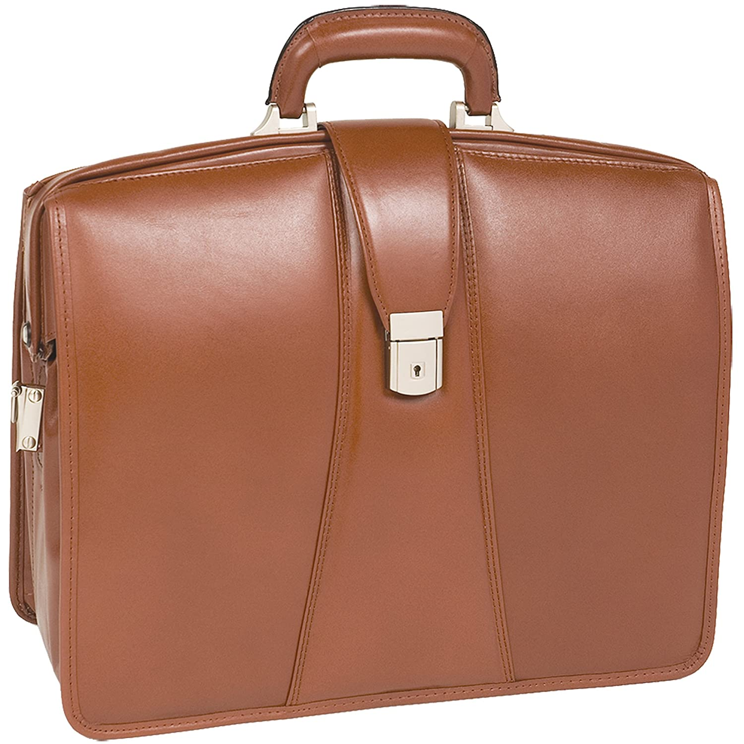 Personalized Initials Embossing McKleinUSA Mens HARRISON in Brown