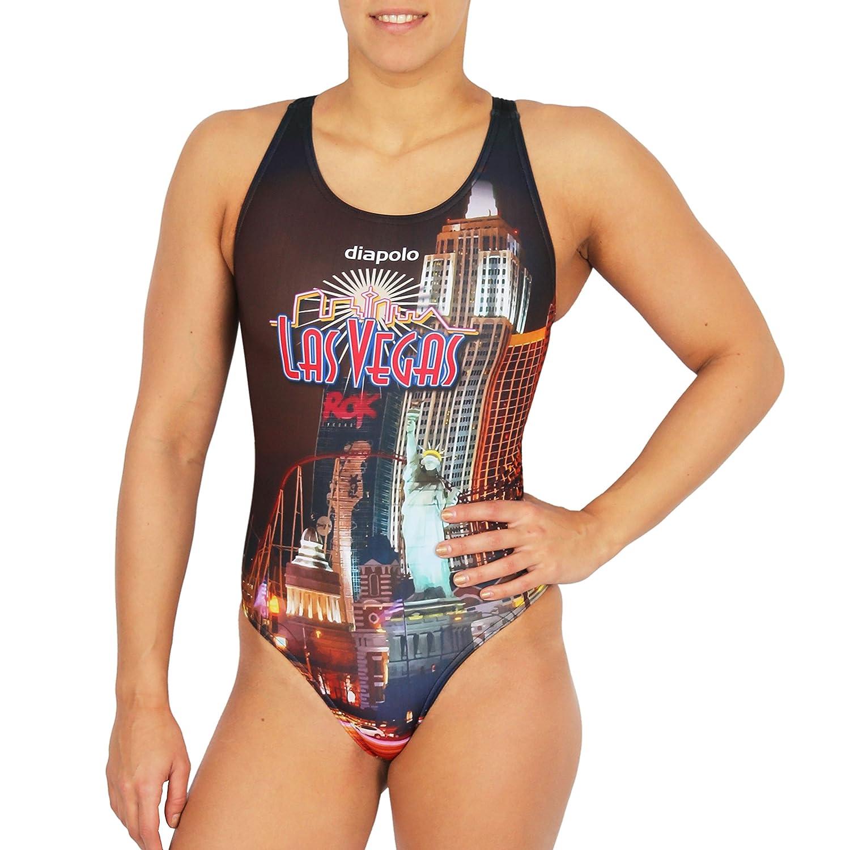Diapolo Las Vegas Badeanzug aus der City Kollektion für Schwimmen Synchronschwimmen Wasserball Thriathlon