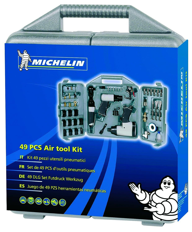 Michelin 6010960000 Coffret Outils 49 Pi/èces Gris