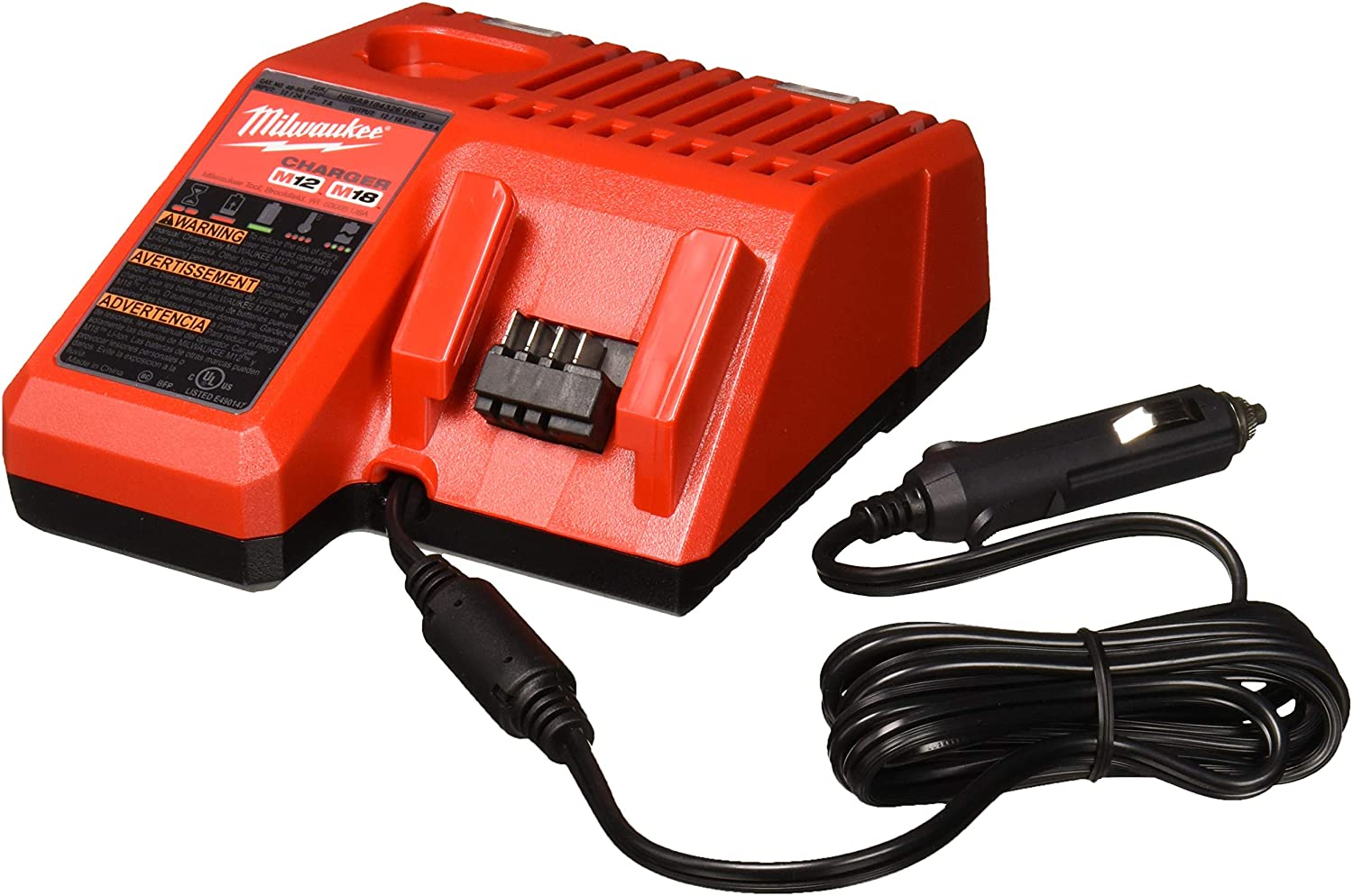 Milwaukee Electric Tools Corp 48-59-1810 Vehicle Charger