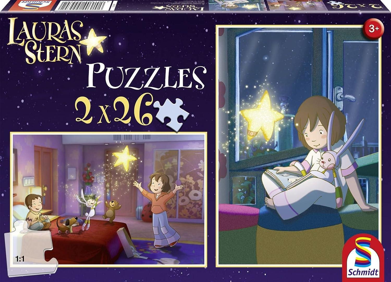 Schmidt Spiele Lauras 55570 Home, 2 x 26 Piece Jigsaw Puzzle