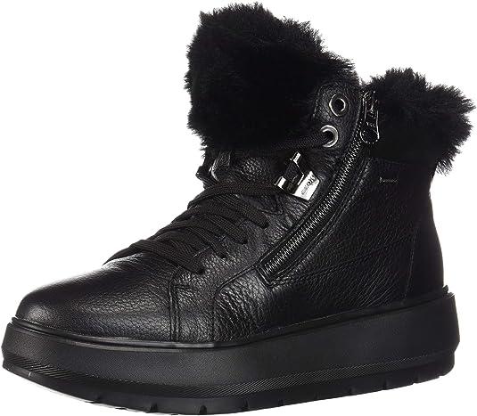 Geox D Kaula B ABX D, Sneaker a Collo Alto Donna