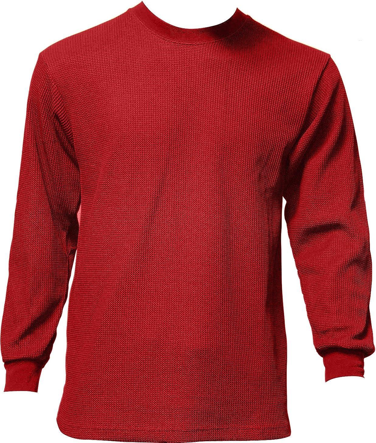 New Men/'s Noiz Long Sleeve Crew Neck Thermal Khaki Size X-Large Brand New!