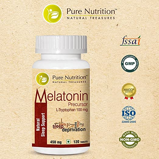 Amazon.com: Melatonina precursor 100 mg – 120 verduras ...