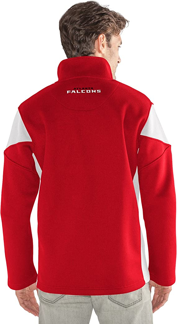 G-III Mens Halftime Full Zip Jacket Red X-Large
