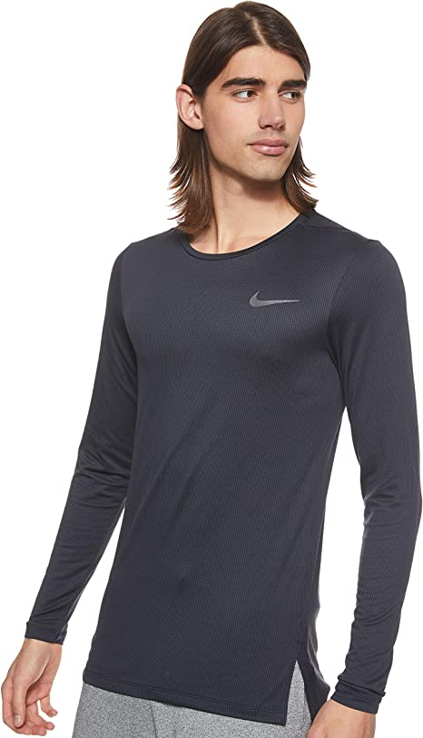 Nike Mens M Nk Dry Ls Slim Long Sleeve Long Sleeved T-Shirt