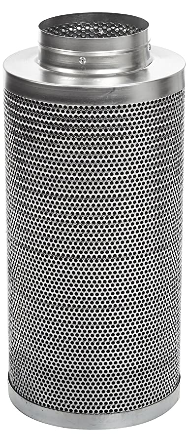 """Apollo Horticulture 6/"""" Inch Premium Carbon Charcoal Air Filter Scrubber"""
