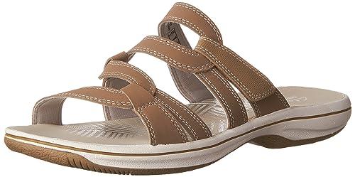78c7fe626 Clarks Women s Brinkley Lonna Slide Sandal